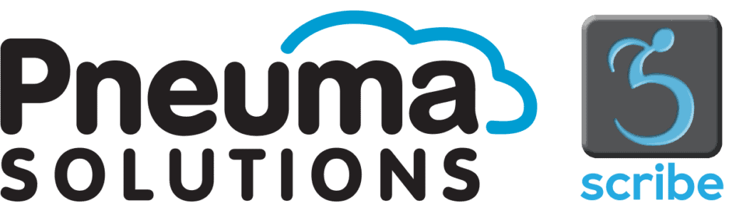 Pneuma Solutions and Scribe logos